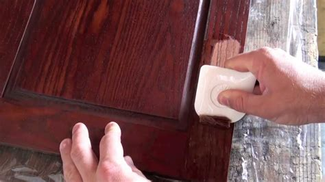 How To Remove Finish From Wood Cabinets