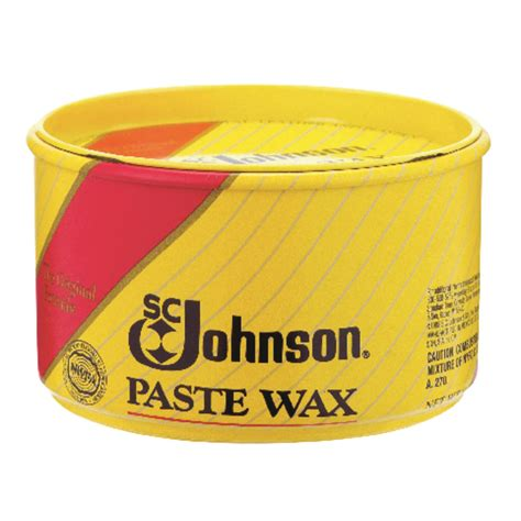 How To Remove Johnsons Paste Wax From Wood