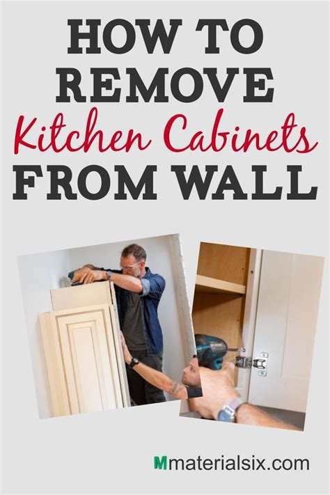 How To Remove Kitchen Cabinets From Plaster Walls