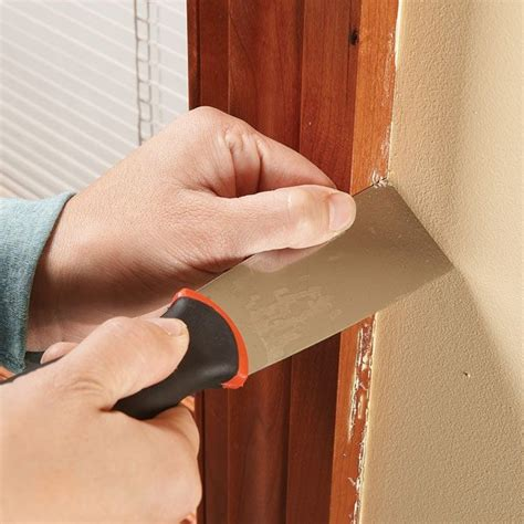 How To Remove Old Paint Drips From Woodwork