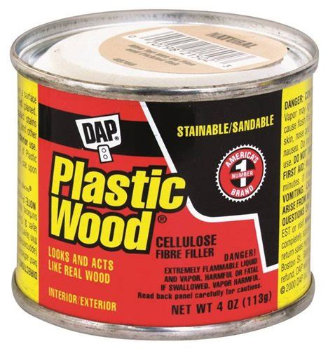 How To Remove Plastic Wood Filler