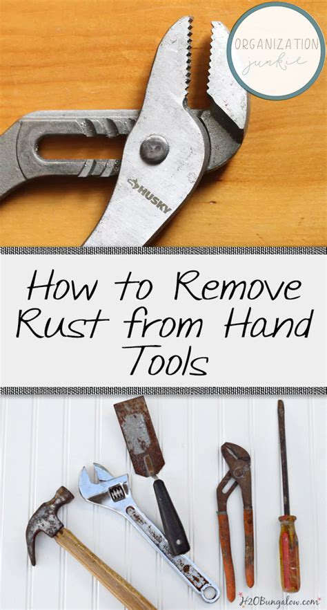 How To Remove Rust From Hand Tools