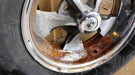 How To Remove Rust Off Metal Rims