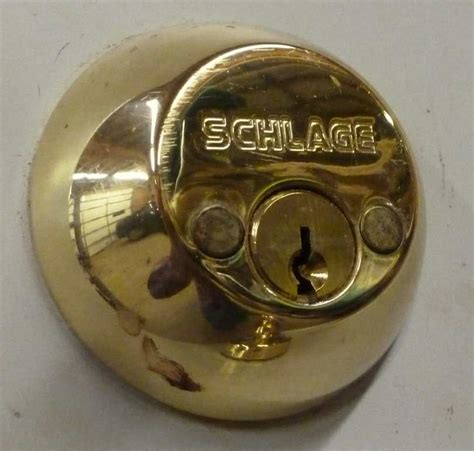How To Remove Schlage Deadbolt Screw Covers