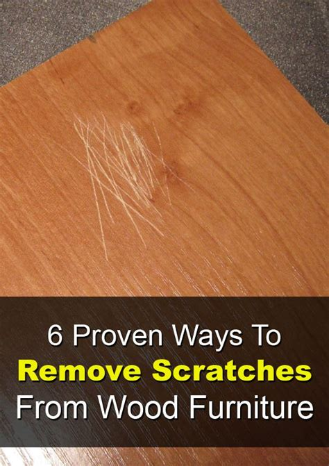 How To Remove Scratches From Cherry Wood Table