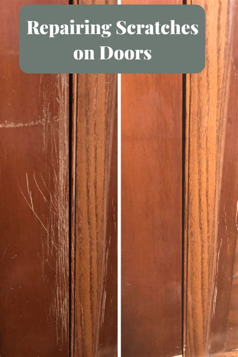 How To Remove Scratches From Wood Doors