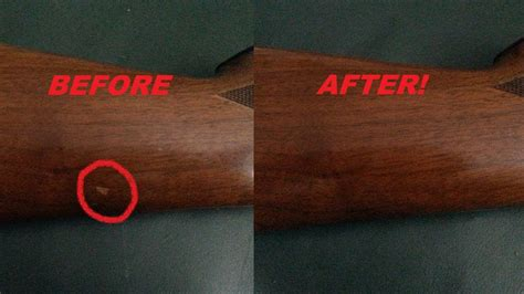 How To Remove Scratches From Wood Gun Stock