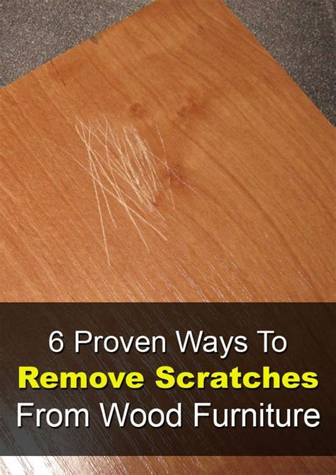 How To Remove Scratches From Wooden Table