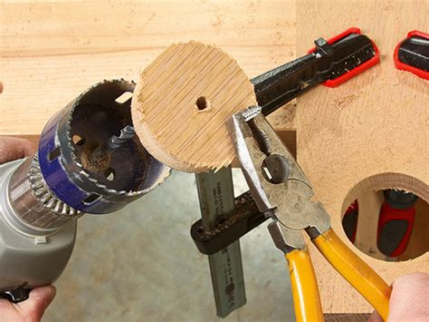 How To Remove Screw Hole Plugs