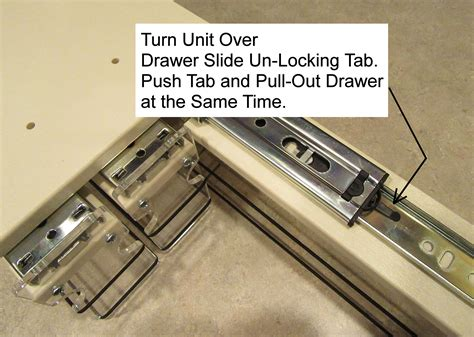 How To Remove Sliding Drawers Lock