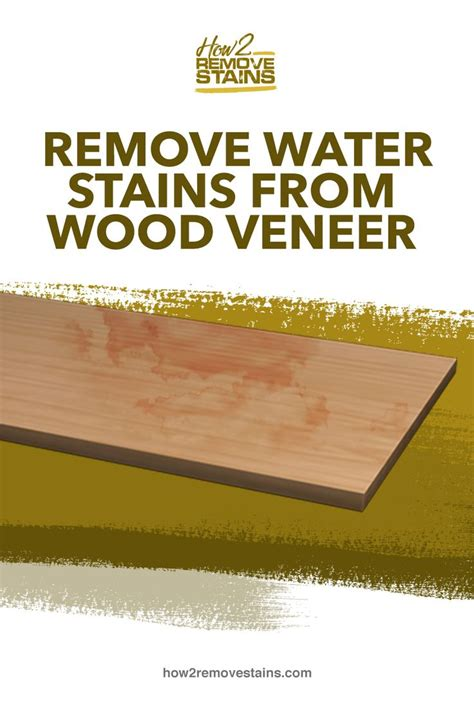 How To Remove Water Marks From Wood Venerr