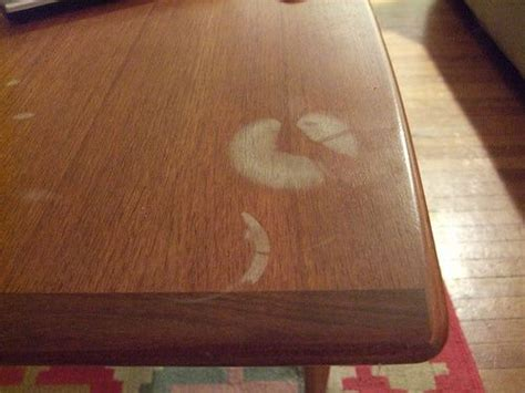 How To Remove White Marks From Wood Table
