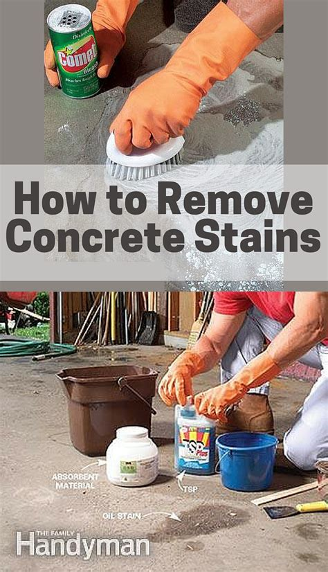 How To Remove Wood Finish From Concrete