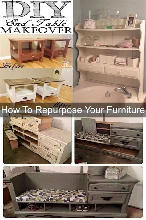 How To Renew Old Furniture Into Something New