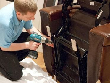 How To Repair A Leaning Recliner