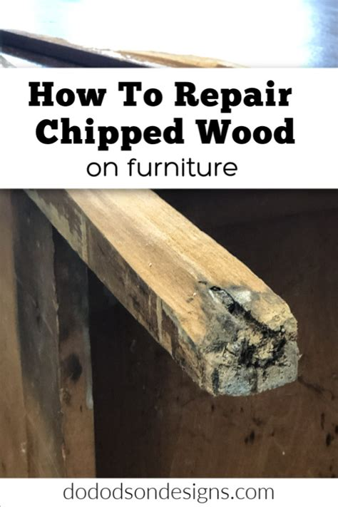 How To Repair Chipped Wood Furniture