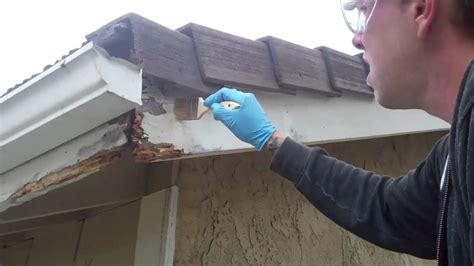 How To Repair Damaged Wood Soffits