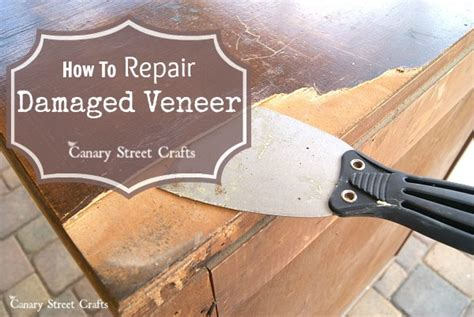 How To Repair Damaged Wood Veneer