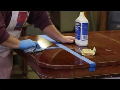 How To Repair Furniture Finish