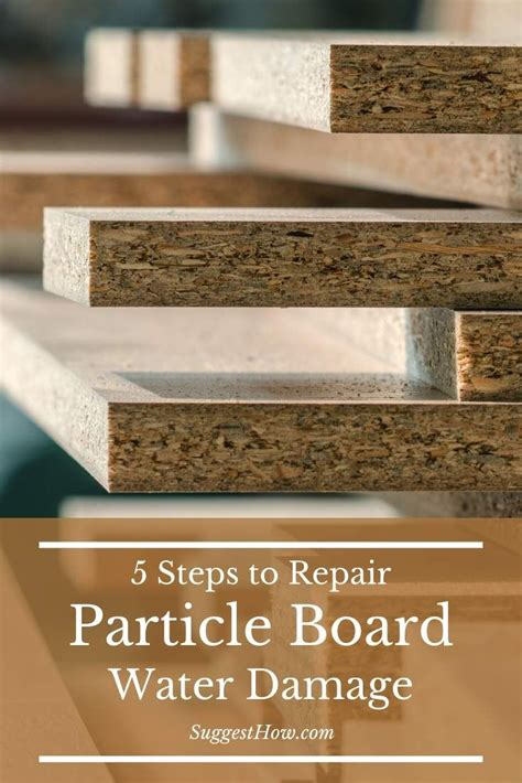 How To Repair Laminate Particle Board