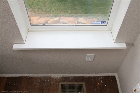 How To Repair Mdf Window Sill