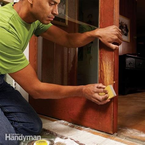 How To Repair Scratched Wood Door From Dog