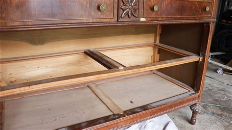 How To Repair Wood Drawer Runners