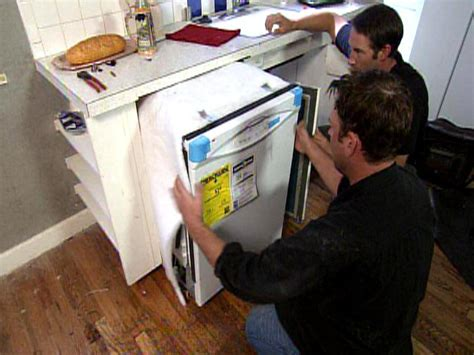 How To Replace Cabinets With A Dishwasher