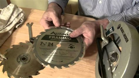 How To Replace Circular Saw Blade Black And Decker