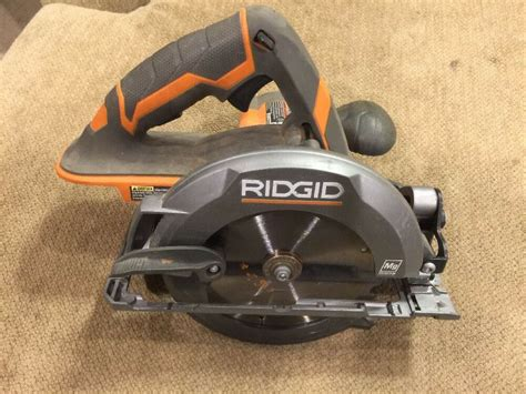 How To Replace Circular Saw Blade Ridgid