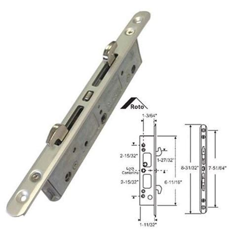 How To Replace Patio Door Mortise Lock