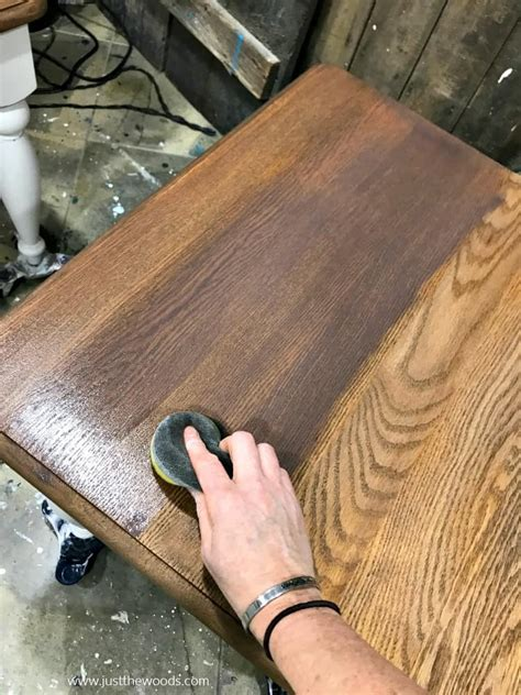 How To Restain Wood Darker Color Urin
