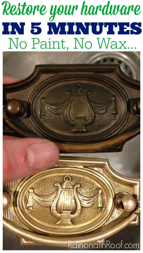 How To Restore Antique Brass Hardware