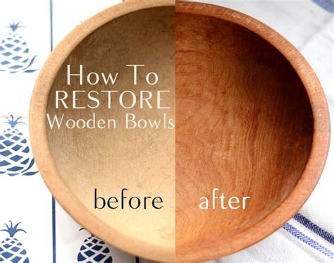 How To Restore Antique Wooden Bowl