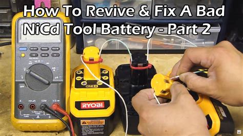 How To Revive A Rechargeable Drill Battery