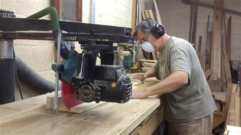 How To Rip Wood With Radial Arm Saw