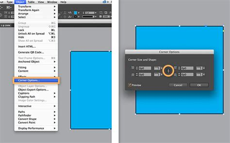 How To Round Corners In Indesign