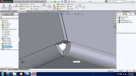 How To Round Corners In Solidworks