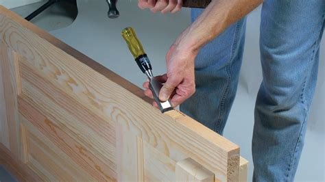 How To Route Door Hinges With Wood Chisel
