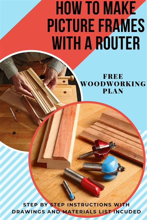 How To Router A Picture Frame Without It Breaking