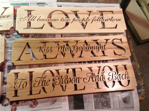 How To Router Letters In Wood Plaque