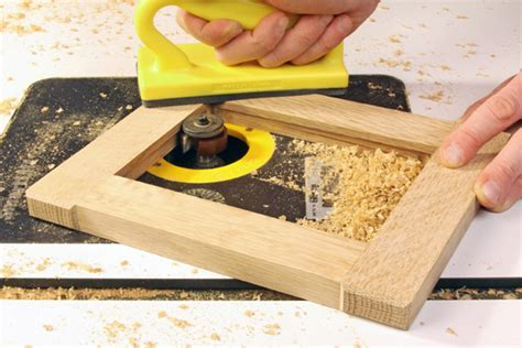 How To Router The Inside Of A Picture Frame