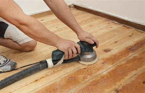 How To Sand A Floor With An Orbital Sander