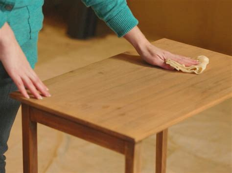 How To Sand A Table Before Staining