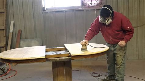 How To Sand A Wood Table Top