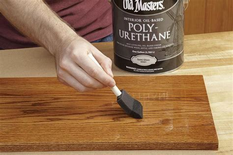 How To Sand Between Coats Of Polyurethane