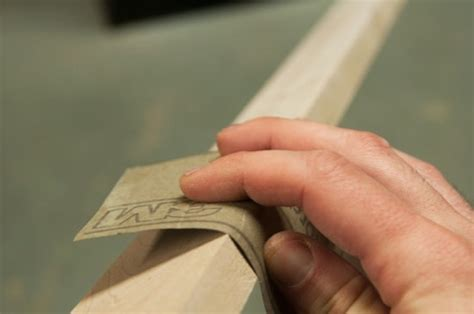 How To Sand Edges Of Wood