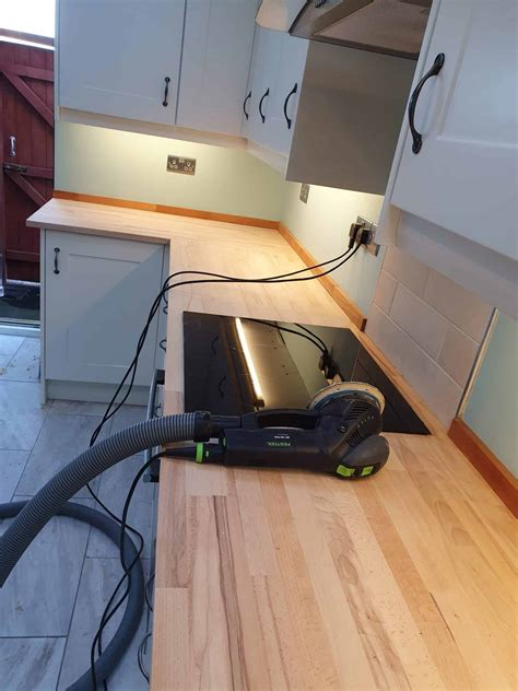 How To Sand Oak Worktops