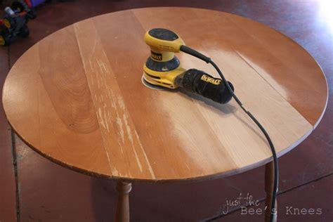How To Sand Varnish Off A Table