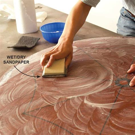 How To Sand Varnish With Steel Wool